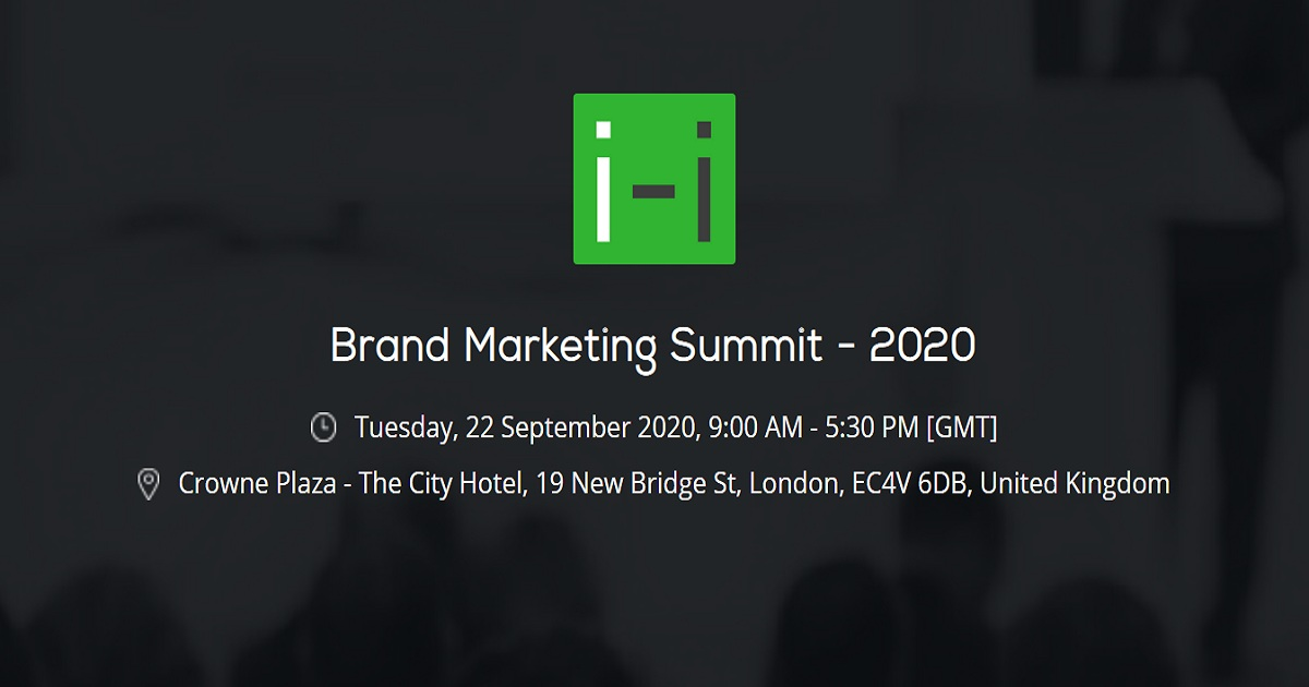 Brand Marketing Summit - 2020