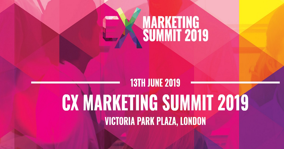 CX MARKETING SUMMIT 2019