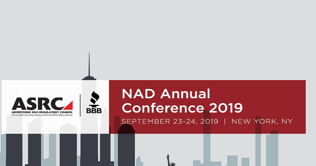 The National Advertising Division (NAD) Annual Conference 2019