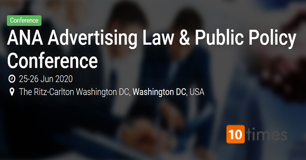 ANA Advertising Law & Public Policy Conference