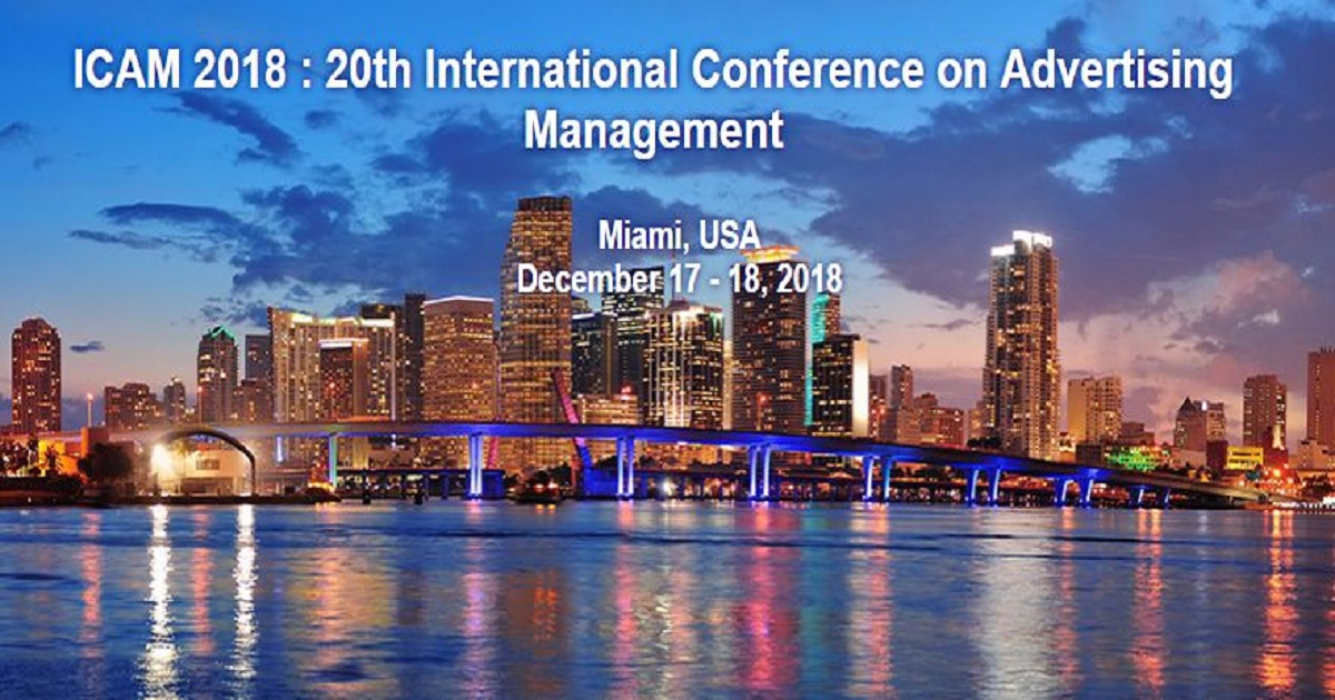 20th International Conference on Advertising Management
