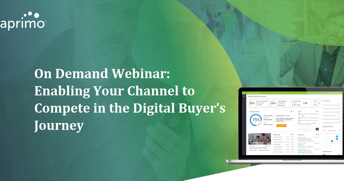 Enabling Your Channel to Compete in the Digital Buyer's Journey