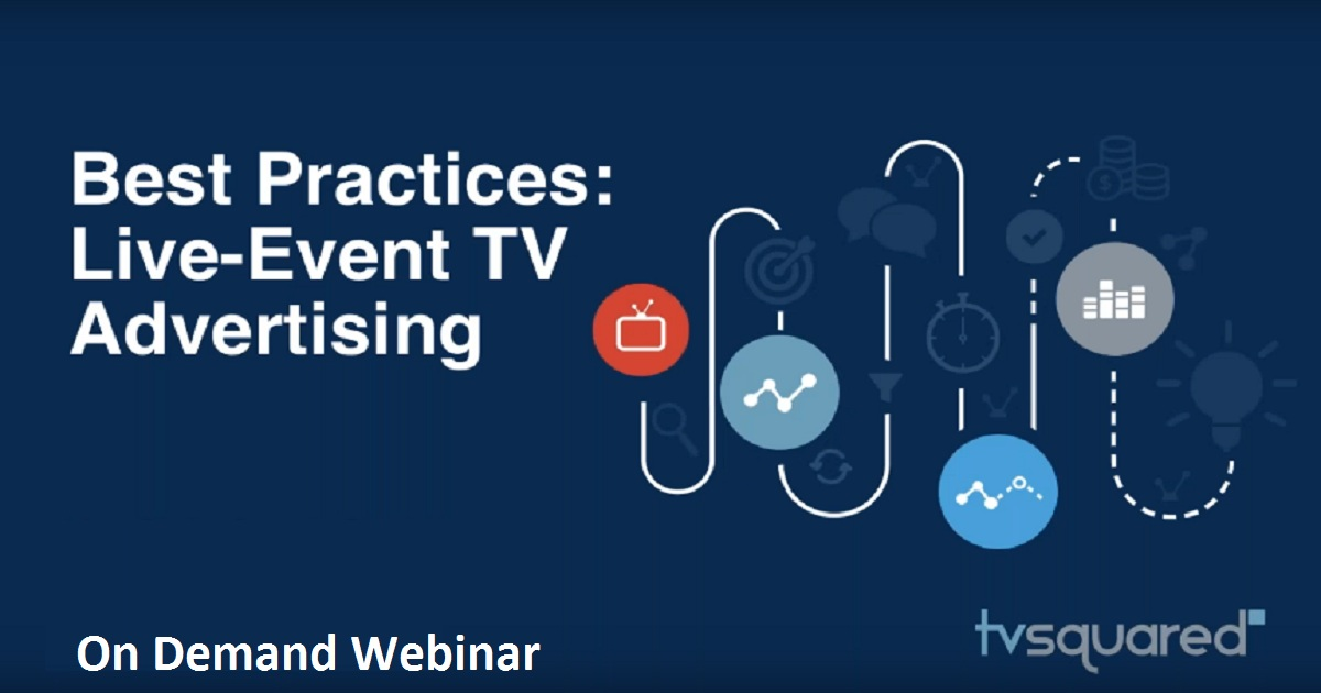 Best Practices for Live-Event TV Advertising