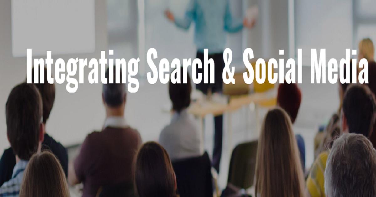 Integrating Search & Social Media