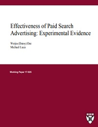 EFFECTIVENESS OF PAID SEARCH ADVERTISING: EXPERIMENTAL EVIDENCE