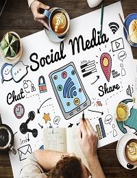 SOCIAL MEDIA IN HEALTHCARE INFOGRAPHICS